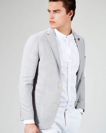 کت سورمه ای مردانه  Avva 1565253981