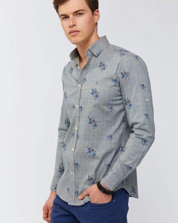 پیراهن طرحدار مردانه  Avva 156594768