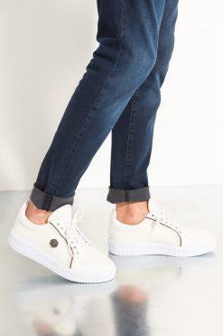 کفش اسپرت اسنیکر مردانه سفید الاستن Soho-Men 15659845