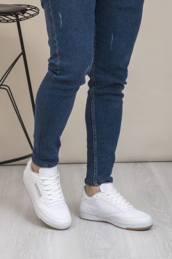 کفش اسپرت اسنیکر  سفید الاستن Tonny Black 1565454255
